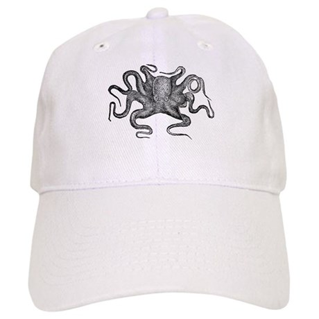 Vintage Octopus Baseball Baseball Cap by V Ink d09070a90b2