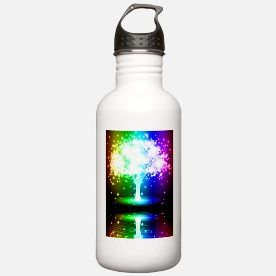 Color Tree Water Bottle