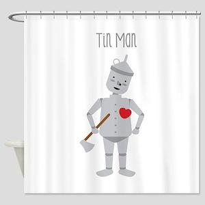 Tin Man Shower Curtain