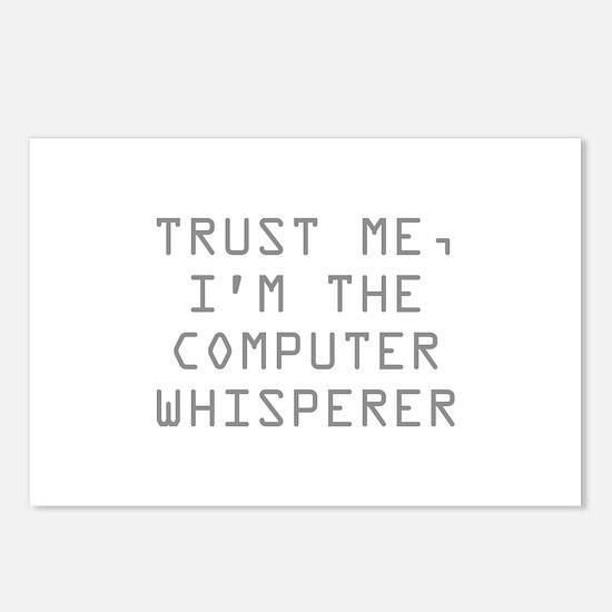 Trust Me, I'm The Computer Whisperer Postcards (Pa