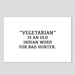 Vegetarian Is An Old Indian Word For Bad Hunter Po