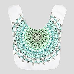 Evergreen Mandala Pattern Bib