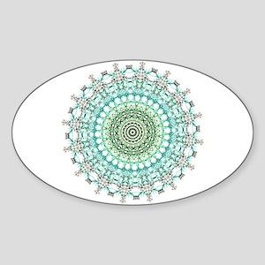 Evergreen Mandala Pattern Sticker