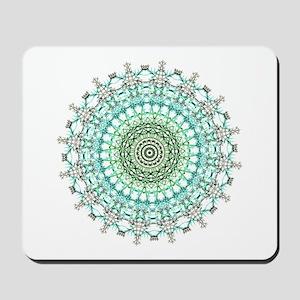 Evergreen Mandala Pattern Mousepad