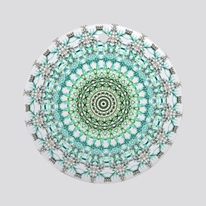 Evergreen Mandala Pattern Ornament (Round)