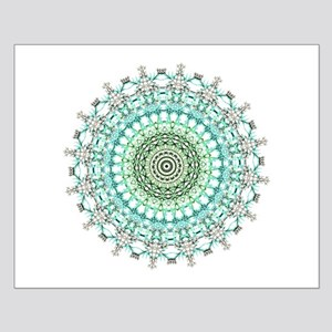 Evergreen Mandala Pattern Poster Design