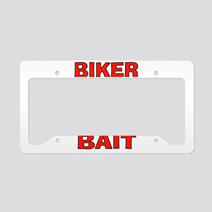 BIKER BAIT License Plate Holder