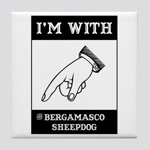 With the Bergamasco Tile Coaster
