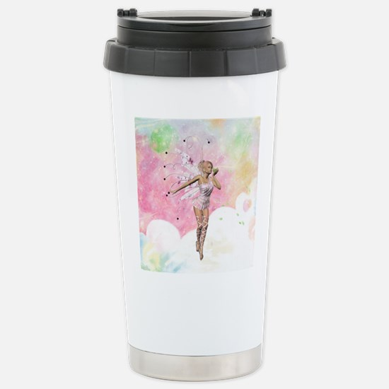 The Fairy And The Frog Travel Mug