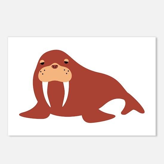 Walrus Animal Postcards (Package of 8)