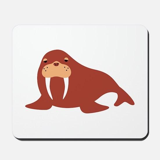 Walrus Animal Mousepad