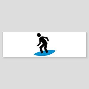 Surfer Sticker (Bumper)