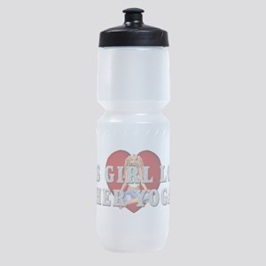 TOP Yoga Love Sports Bottle
