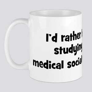 Study medical social work Mug