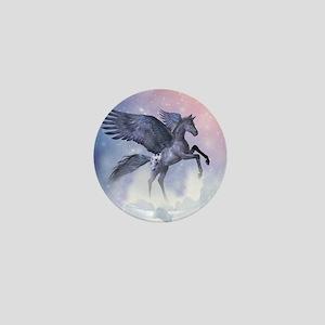 Flying Pony Mini Button