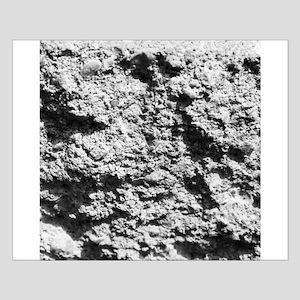 White rock concrete texture Posters