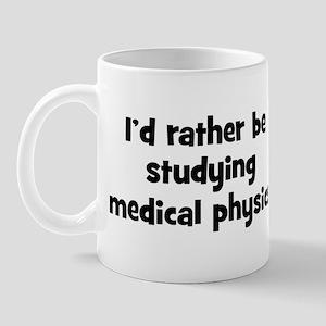 Study medical physics Mug