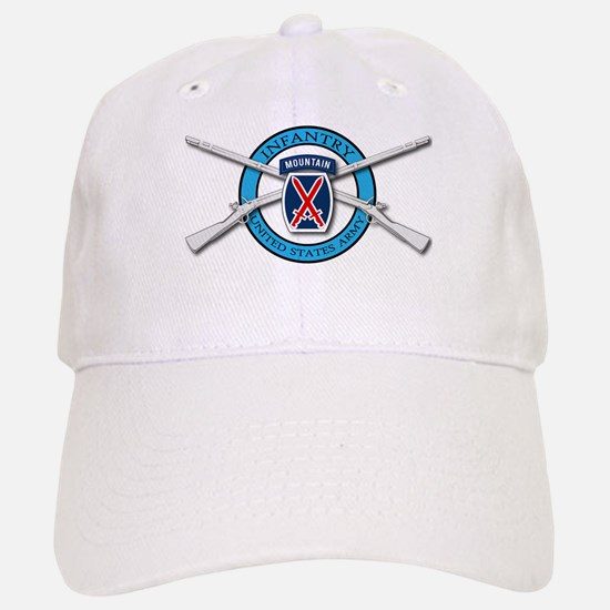 10th Mountain Muskets Baseball Baseball Cap