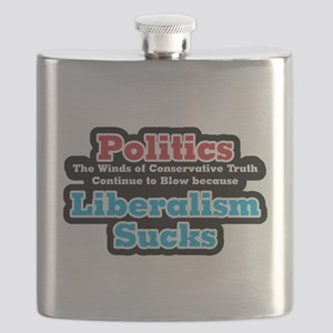 Liberalism Sucks Flask