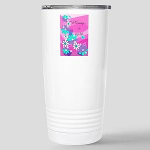 Nursing is my life pink Travel Mug