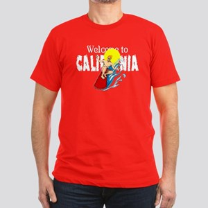 Welcome to Cal Men's Fitted T-Shirt (dark)