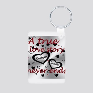 True Love Story Keychains