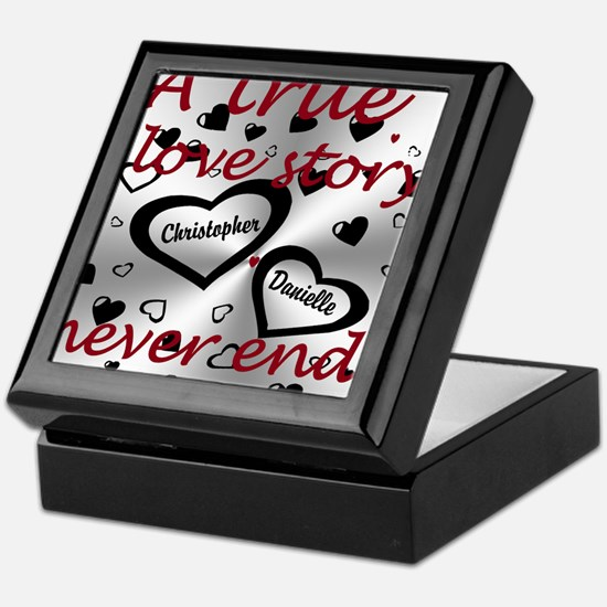 True Love Story Keepsake Box