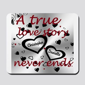 True Love Story Mousepad