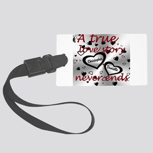 True Love Story Luggage Tag