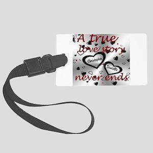 True Love Story Luggage Tag