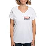 Happy Mother's Day ! Women's V-Neck T-Shirt