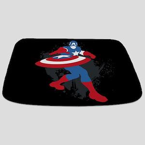 Captain America Minimalist Bathmat