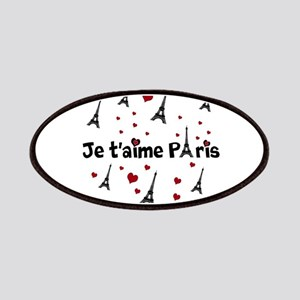 Cute French I LOVE PARIS Patches