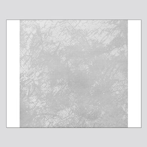 White frosted cursive linen Posters