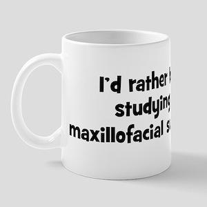 Study maxillofacial surgery Mug
