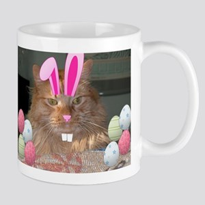 Easter Orange Tabby Cat Mugs