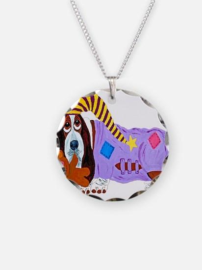 Basset Hound Bedtime Necklace