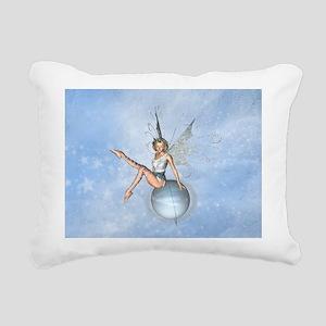 Forest Fairy Rectangular Canvas Pillow