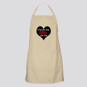 Personalize True Love Story Apron