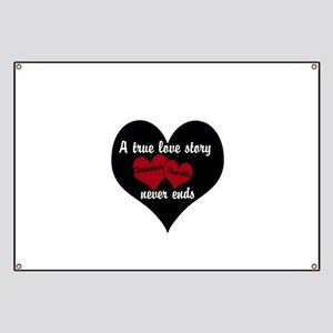 Personalize True Love Story Banner