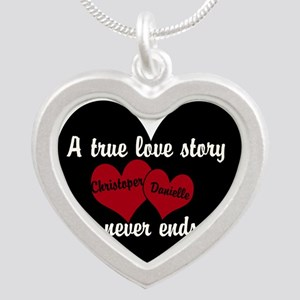 Personalize True Love Story Necklaces