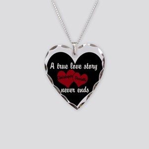 Personalize True Love Story Necklace