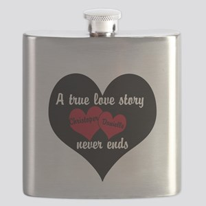 Personalize True Love Story Flask