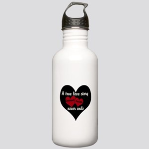 Personalize True Love Story Water Bottle