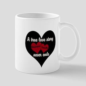 Personalize True Love Story Mugs