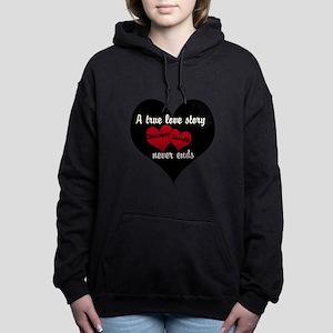 Personalize True Love Story Hooded Sweatshirt