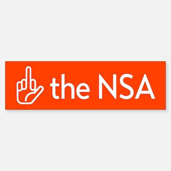 F The NSA Bumper Bumper Bumper Sticker