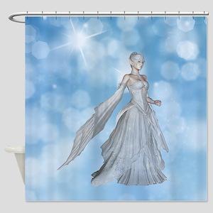 Ice Princess Shower Curtain
