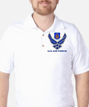 Reserve Command USAF Golf Shirt