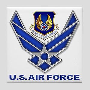 Air Materiel Command Tile Coaster